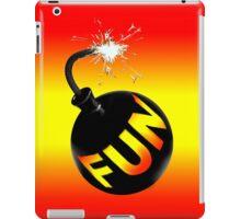 fun bomb iPad Case/Skin