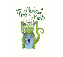 The Monster Mash Art Print