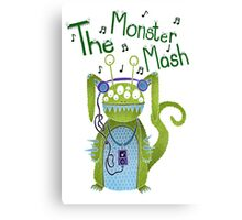 The Monster Mash Canvas Print