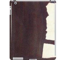 left hand side heavy, match stick iPad Case/Skin