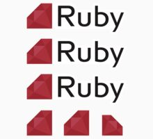 Ruby ×3 by csyz ★ $1.49 stickers