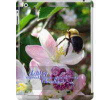 bee-utiful spring iPad Case/Skin