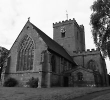St. Andrews Church Shifnal Shropshire. by Lawson Clout