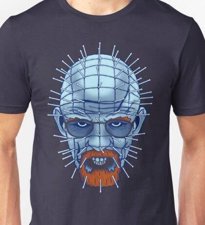 Breaking Bad Hellsenberg (Walter White / Pinhead Mashup) Unisex T-Shirt