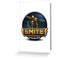 Smite Bellona Logo Greeting Card