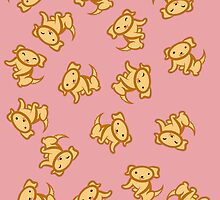 Dogs (Yellow Lab)! [Pink] [iPhone/iPod] by Kashidoodles
