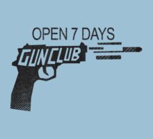 GUN CLUB. OPEN 7 DAYS. GTA5. by BungleThreads