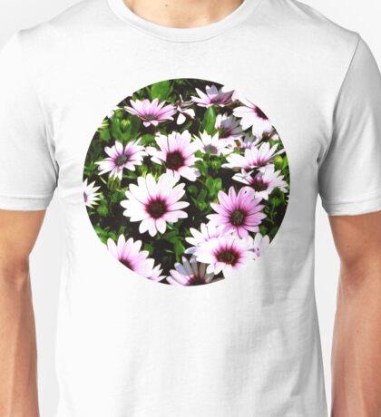 Purple stillness Unisex T-Shirt