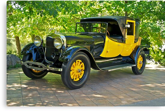 1927 Lincoln Coaching Brougham I by DaveKoontz