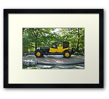 1927 Lincoln Coaching Brougham II Framed Print