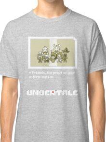 Undertale characters Classic T-Shirt