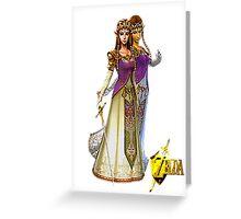 Princess Zelda Greeting Card