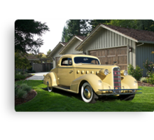 1934 LaSalle 'Rumble Seat' Coupe I Canvas Print