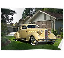 1934 LaSalle 'Rumble Seat' Coupe I Poster