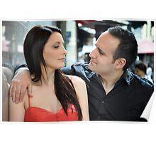 Sarah and Aaren  Poster