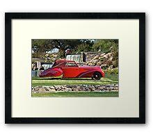 1947 Delahaye 135M Pennock Cabriolet I Framed Print