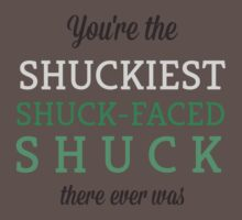Shuckiest Shuck-Faced Shuck | Unisex T-Shirt