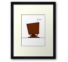 Forty-Two. Framed Print