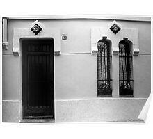 Windows and Door Poster