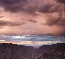 Sunset Overlook.2 - Black Canyon of the Gunnison National Park, Colorado by Jason Heritage