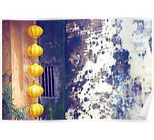 Yellow Lanterns Poster