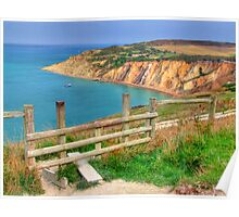 The Path To Alum Bay - I.O.W. Poster