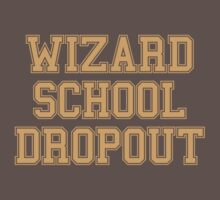 Wizard School Dropout One Piece - Short Sleeve
