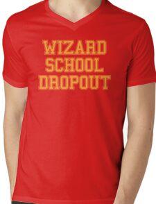 Wizard School Dropout Mens V-Neck T-Shirt