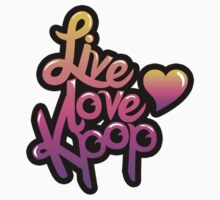 Live, Love, Kpop (Sticker) by pinkbook