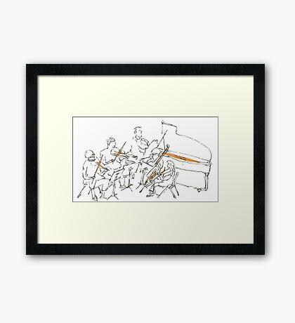 ensemble Framed Print