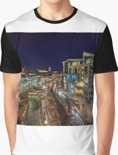 Derby, The Morledge, Central UK Graphic T-Shirt