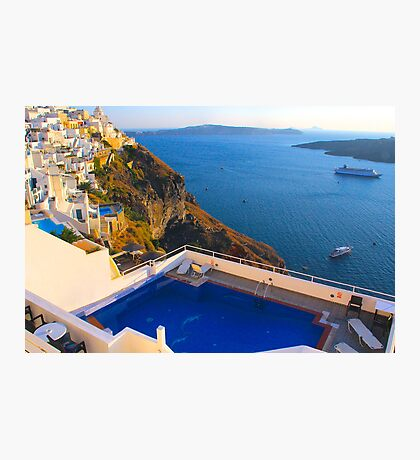 A Fira View Photographic Print