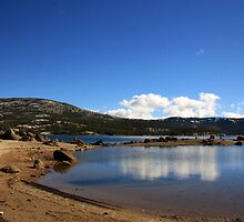 Sandy Silver Lake by RFA-Photography