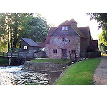 The Mill at Mapledurham. Photographic Print