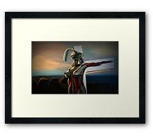 Sesile Framed Print
