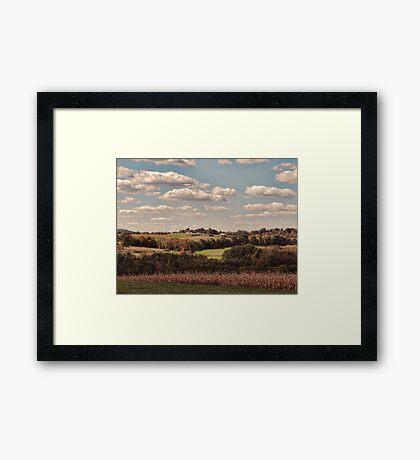 Great Fall Scenery 2 Framed Print
