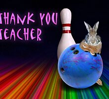 Thank You Teacher Bunny Rabbit by jkartlife