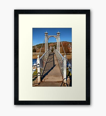 Priorsford Bridge Framed Print