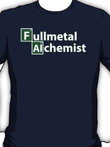 Full Metal Alchemist and Science.  T-Shirt