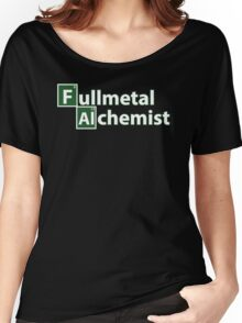 Full Metal Alchemist and Science.  Women's Relaxed Fit T-Shirt