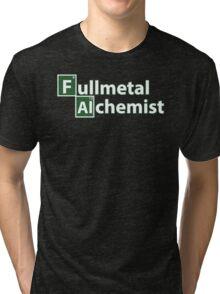 Full Metal Alchemist and Science.  Tri-blend T-Shirt