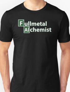 Full Metal Alchemist and Science.  T-Shirt
