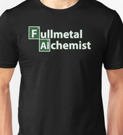 Full Metal Alchemist and Science.  Unisex T-Shirt