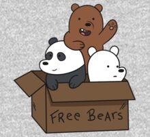 We Bare Bear Cubs One Piece - Long Sleeve