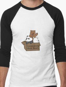 We Bare Bear Cubs Men's Baseball ¾ T-Shirt