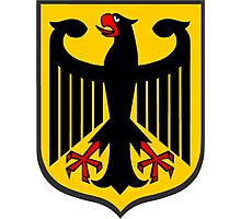 German Coat of Arms Photographic Print