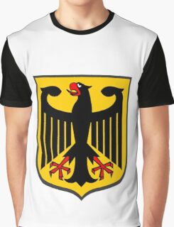 German Coat of Arms Graphic T-Shirt