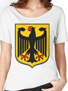 German Coat of Arms Women's Relaxed Fit T-Shirt
