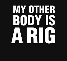 MY OTHER BODY IS A RIG Mens V-Neck T-Shirt