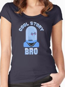 A Gotham Story, Bro Women's Fitted Scoop T-Shirt